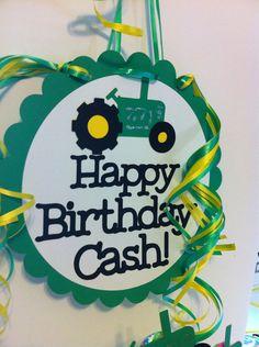 Tractor Birthday