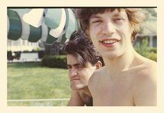 Mick Jagger and Ian Stewart