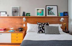 Favorito Da Semana: um Dormitório Aconchegante, Moderno e Funcional | Ideias Reformas Imóveis