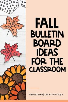 Do you love everything that comes with the season of Fall?! From pumpkins to colorful leaves! Bring the season and comfort of Fall to your classroom and even your distance learning classroom with these beautiful Fall decor ideas for your bulletin board or distance learning backdrop. These are wonderful tips and ideas even if you have a very small area to work with. #fallclassroomdecorations #distancelearningbackdrop #bulletinboardideas #classroomdecorations Middle School Classroom, Homeschool High School, Kindergarten Classroom, Elementary Schools, Homeschooling, Classroom Walls, Classroom Posters, Classroom Themes, Holiday Bulletin Boards