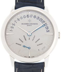 Patrimony Traditionelle Automatic Silver Dial Watch 86020000P9345 Vacheron Constantin, Watches For Men, Unisex, Band, Crystals, Silver, Leather, Accessories, Wallpaper
