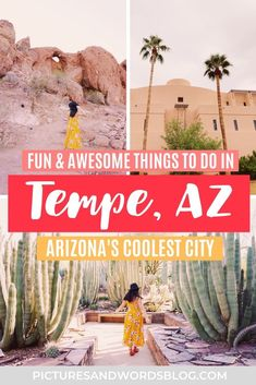 There are so many fun things to do in Tempe, AZ for any kind of traveler! Whether you are a outdoor adventurer, arts and culture lover, or a foodie, read this Tempe travel guide to find out how to have the perfect Arizona weekend getaway. Tempe is a must on any Arizona itinerary or Southwest road trip, and is a must for those looking for things to do in Phoenix. If you are looking for Arizona weekend getaway ideas, then Tempe may be perfect for you!