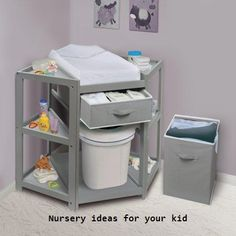 Small kids room hacks changing tables best ideas - Home Decor Baby Nursery Diy, Woodland Nursery, Baby Room Decor, Baby Boy Nurseries, Nursery Room, Nursery Ideas, Room Ideas, Project Nursery, Modern Nurseries