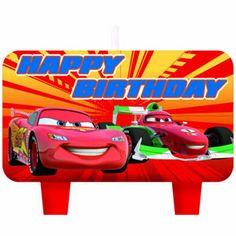 Hallmark Disneys Cars 2 Molded Candle