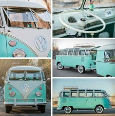 Volkswagen Bus Discover An Aquamarine Kombi At first glance seems to be perfect. However you shouldnt underestimate it. In this guide we cover EVERYTHING you need to know about VAN LIFE Vw Camper Bus, Bus Volkswagen, Vw Caravan, Volkswagon Van, Volkswagen Beetles, Campers, Mini Vans, Combi Hippie, Vw Hippie Van