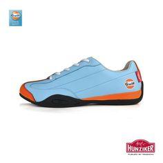 Steve McQueen, driving shoes, Hunziker shoes, Porsche shoes, Porsche clothing, McQueen shoes, McQueen clothing, Gulf apparel, gulf shoes, martini racing apparel
