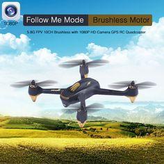 H501s hubsan x4 rc drone con 1080 p hd macchina fotografica di gps follow me modalità ritorno automatico telecomando toys 5.8g fpv 10ch quadcopter