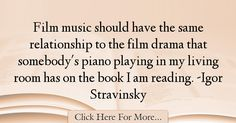 Igor Stravinsky Quotes About Relationship - 57688