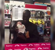 This is awesomeSomeone took their baby to meet Stormzy in Liverpool...