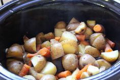 Roasted Veggies – in the Crockpot