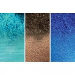 Primary Elements Artist Pigments Set On the Wave