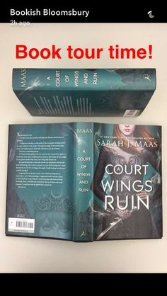 ACOWAR it's beautiful!!! May 2nd 2017