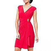 American Living Side-Draped Dress  $36