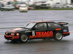 1987 world touring cars Texaco Sierra Ford Sierra, Ford Rs, Car Ford, Sports Car Racing, Race Cars, Nissan, Ford Motorsport, Texaco, Bmw
