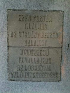 Régi porta előtti tábla Retro, Hungary, Budapest, Old Photos, Tarot, Old Things, Times, Humor, Funny