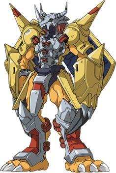 War Greymon - Wikimon - The Digimon wiki Robots Characters, Anime Characters, Thundercats, Pokemon Vs Digimon, Pokemon Cards, Digimon Adventure Tri., Manga Anime, Anime Art, Digimon Wallpaper