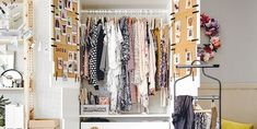 Solve your small-space dilemmas with these simple solutions for bathrooms. Furniture, Organization, Simple Solutions, Small Spaces, Small Bathroom Organization, Beautiful Homes, Home Decor, Small Bathroom, Wardrobe Rack
