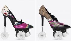 Yves Saint Laurent lanza unos polémicos stilettos con ruedas