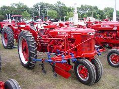 FARMALL H W/Cultivators