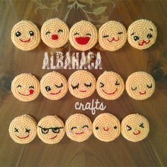 Disney Crochet Patterns, Crochet Applique Patterns Free, Emoji Patterns, Crochet Keychain Pattern, Crochet Turtle, Crochet Bunny, Crochet For Kids, Crochet Eyes, Crochet Mask