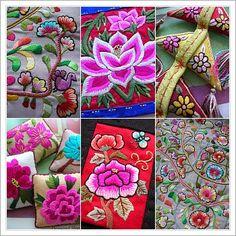 Photomontage of Korean embroidery. #PhotojournalismKorea #KoreanTextiles