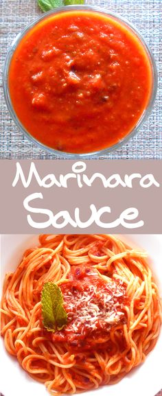 """Why make boring old pasta sauce?  This homemade marinara sauce recipe calls for 9 varieties of tomatoes. This tomato marinara is the answer to the question, """"how to make spaghetti sauce?""""."""
