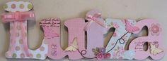 Luiza lilás e rosa porta maternidade | Válvula de Scrap | Elo7