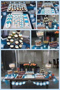 Mesa de dulce para bautizo