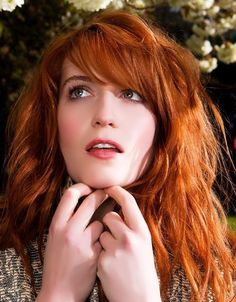 Florence Welch of Florence + The Machine - I was lucky enough to be in the front row of her concert in Philadelphia back in 2011