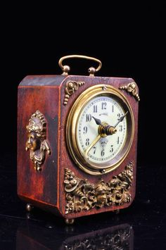 Superb Antique German Lenzkirch Alarm Clock Approx 1900 | eBay More