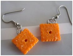 Hey, I found this really awesome Etsy listing at https://www.etsy.com/listing/177699042/cheez-it-earrings