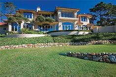 This majestic Pebble Beach estate property has been meticulously remodeled to perfection by the current owners. Enjoy truly panoramic ocean views from nearly. Custom Built Homes, Pebble Beach, Property Listing, Wine Country, Beautiful Homes, Beach House, Real Estate, California, High Society