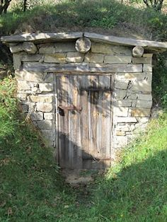 Before refrigeration there was the Root Cellar. We will revive that gorgeous tradition at Forest House. Just waiting to find the perfect door!