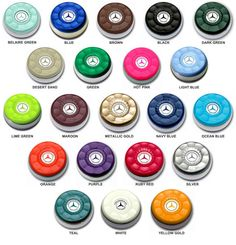 ZieglerWorld Table Shuffleboard Puck Weights Available in 21 Colors