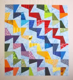 Pdf pattern tilted modern quilt pattern from quilts by elena etsy. Scrap Quilt Patterns, Modern Quilt Patterns, Embroidery Patterns, Scrappy Quilts, Easy Quilts, Kid Quilts, Patchwork Quilting, Quilting Projects, Quilting Designs
