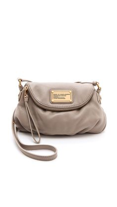 Marc by Marc Jacobs - Gray Classic Q Mini Natasha Bag