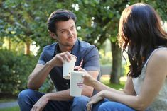 """Check out the photo gallery from the Hallmark Channel Original Movie """"Over the Moon in Love"""" starring Jessica Lowndes and Wes Brown. Wes Brown, Jessica Lowndes, Hallmark Movies, Facebook Photos, Hallmark Channel, Love Stars, Over The Moon, Original Movie, Love Photos"""