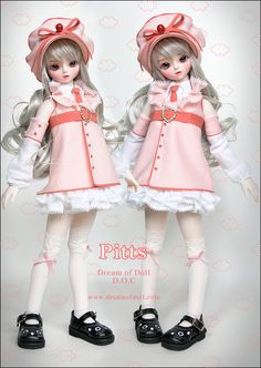 """Dream Of Doll - """"Pitts"""" I think this doll is called """"Pitts"""", but I'm not positive. Anyways though, I think she is rather cute and her clothes are sweet too."""