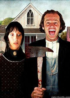 Grant Wood See More American Gothic Parodies Based On Famous People Or Characters