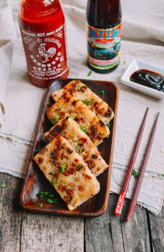 Turnip cake is a traditional Chinese snack served at dim sum. Our family turnip cake lo bak go recipe uses Chinese sausage, dried shrimp, mushrooms and Dim Sum, Turnip Cake, How To Cook Shrimp, Asian Cooking, Asian Recipes, Chinese Recipes, Indonesian Recipes, Japanese Recipes, Orange Recipes