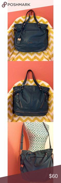 Jessica Simpson Crossbody Bag Stylish teal handbag perfect for the daily life and summer☀️ Jessica Simpson Bags Crossbody Bags