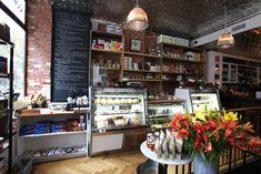 Kaper Design; Restaurant & Hospitality Design: Jeffery's Grocery