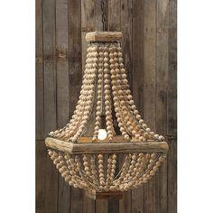 Found it at Wayfair - Sanctuary 1 Light Pendant 150 40 watt bulb