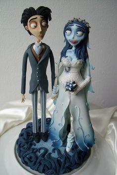 Corpse Bride Victor & Emily Topper