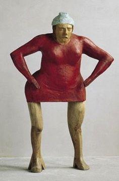 Francisco Leiro Human Sculpture, Modern Sculpture, Wood Sculpture, Designs To Draw, Wood Carving, Madonna, Art Dolls, Sculpting, Bronze