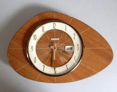 Vintage ball clock via miluccia one more time for Horloge eames