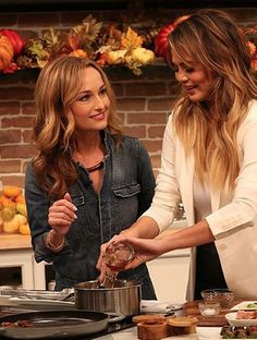 Giada Wore The Most Adorable Denim Jumpsuit Today On FabLife!