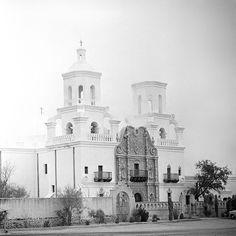 san xavier, south of tucson, september 1958