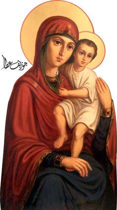 Mary + Jesusus by joeatta78 on DeviantArt