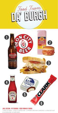 Mmmm chipped ham BBQ, Klondike bars, and root beer.